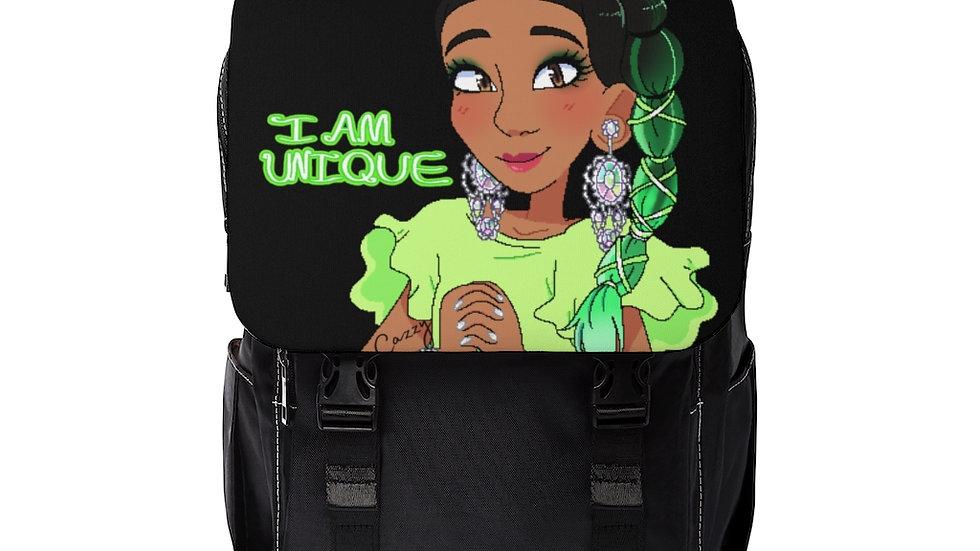 I AM UNIQUE Shoulder Backpack