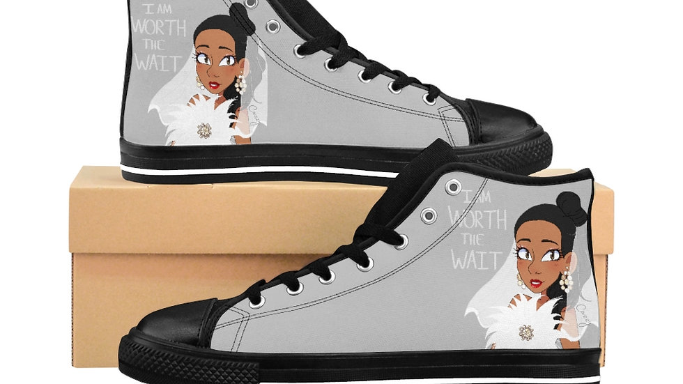 WORTH THE WAIT Cazzy Women's High-top Sneakers
