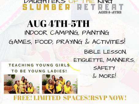 SLUMBER PARTY FOR DOTK GIRLS CLUB
