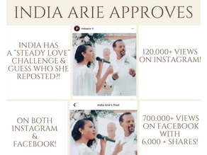 """CASME' REPOSTED BY INDIE ARIE """"STEADY LOVE"""""""