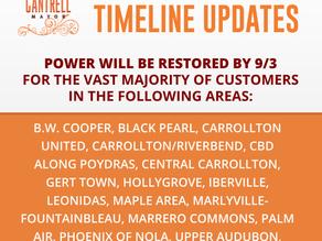 ENTERGY POWER TIMELINE UPDATES