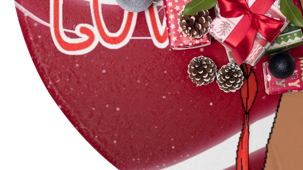 CAZZY I AM LOVE Christmas Tree Skirts