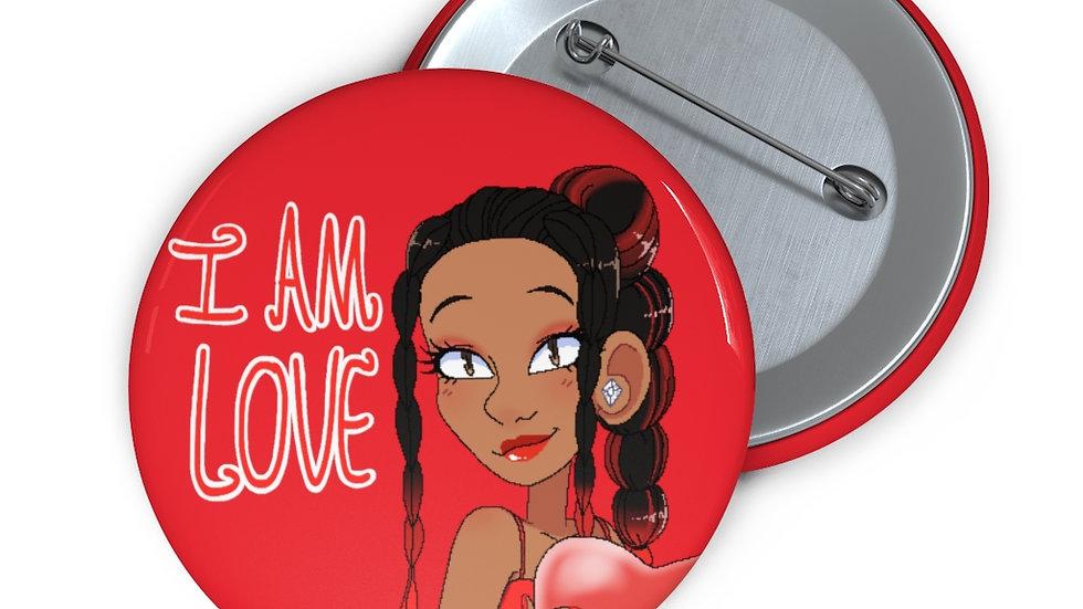 I AM LOVE Button