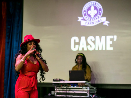 CASME' to be featured @ CRESCENT CITY CREATIVE CARNIVAL!