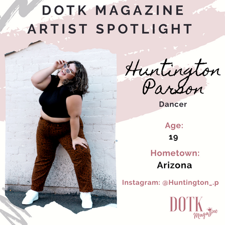 VIRAL DANCER/CHOREOGRAPHER: HUNTINGTON PARSON
