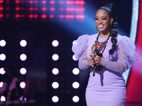 Offbeat Mag: Casmè Nails Aretha Franklin Song On NBC's The Voice, Joins John Legend's Team