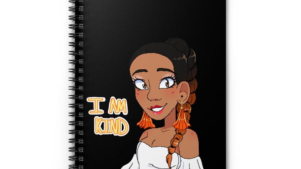 I AM KIND Spiral Notebook