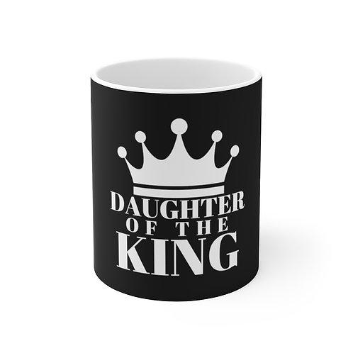 Daughter of The King Ceramic Mug (Blk/White)