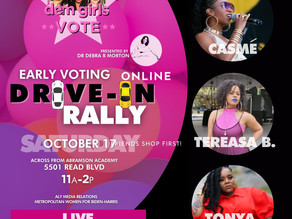 Dem Girls Vote Drive -In Rally