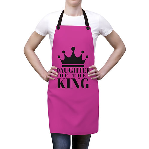 DAUGHTER Of THE KING Apron (Pnk/Blk)