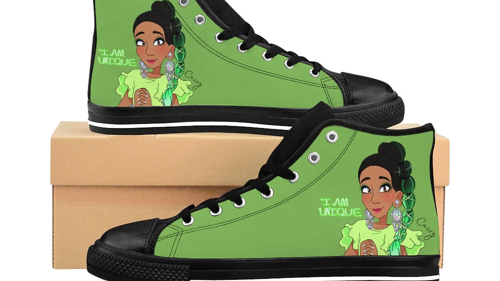 I AM UNIQUE Cazzy Women's High-top Sneakers