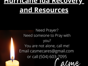 Hurricane Ida Recovery and Resources
