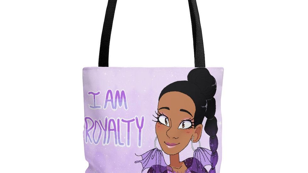 I AM ROYALTY Tote Bag