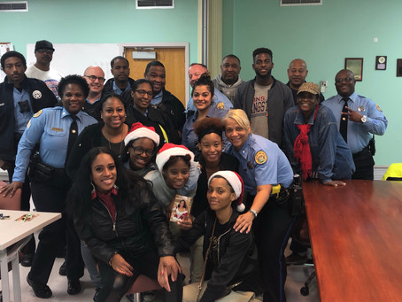 CASME' CARES SING CAROLS FOR COPS!
