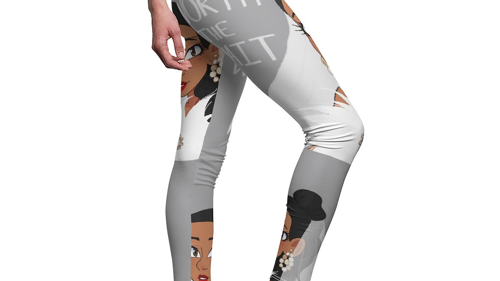 WORTH THE WAIT Women's Leggings