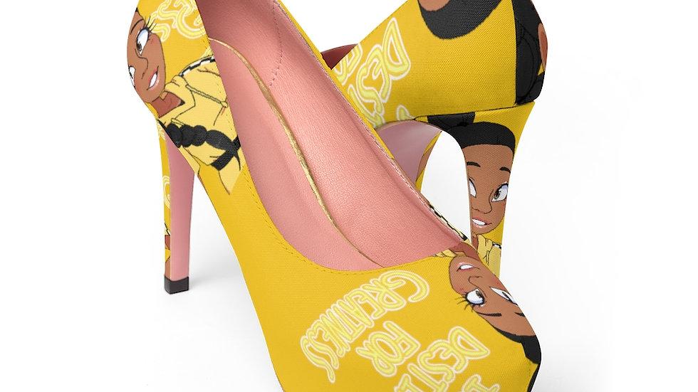 I AM DESTINED Women's Heels