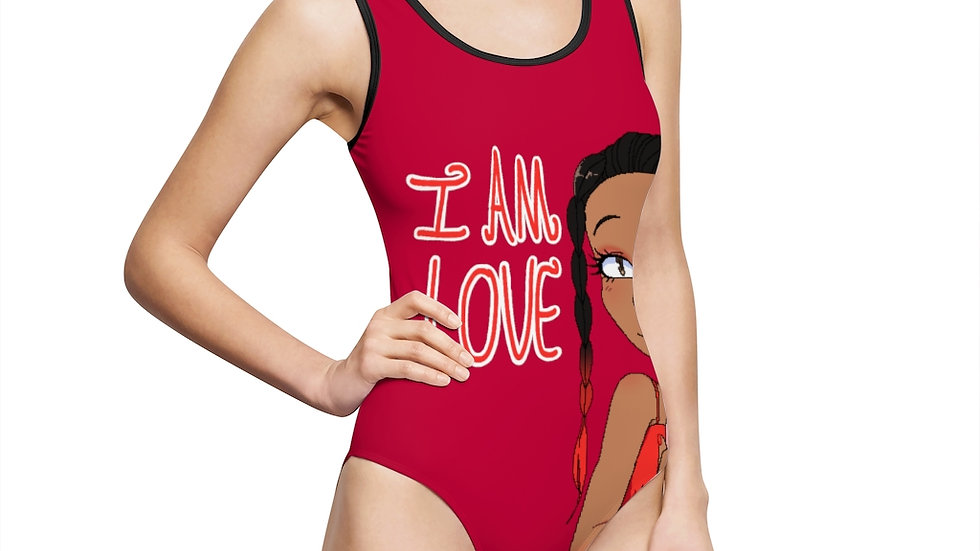 I AM LOVE One-Piece Swimsuit
