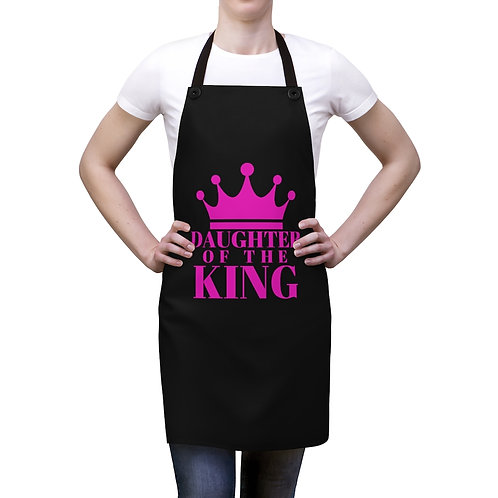 DAUGHTER Of THE KING Apron