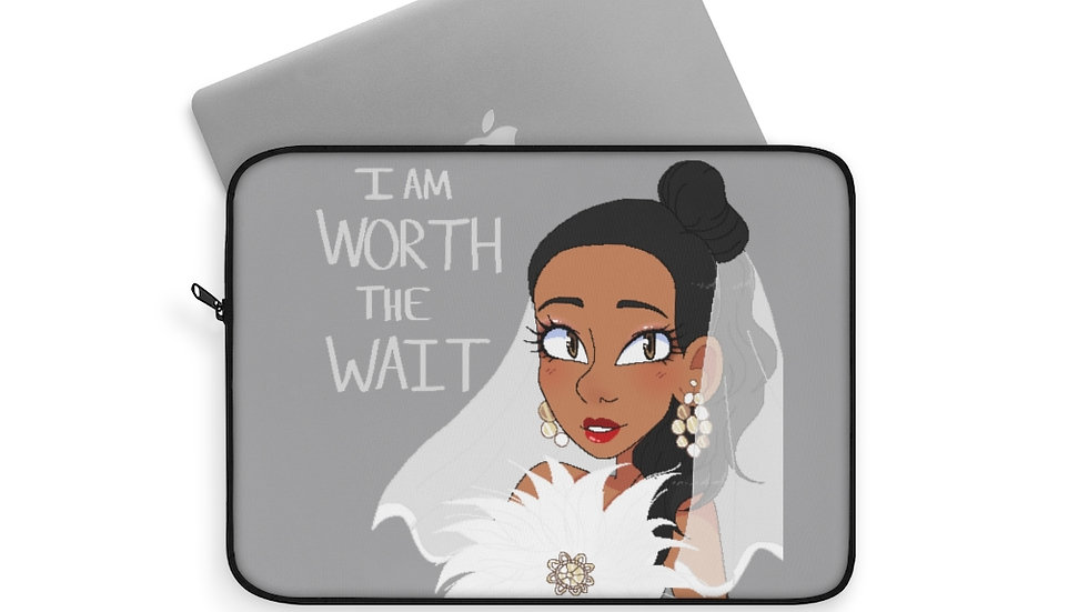 WORTH THE WAIT Laptop Sleeve
