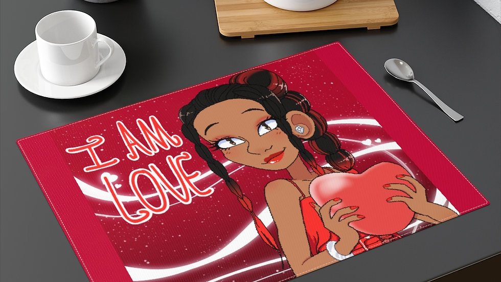 I AM LOVE Placemat