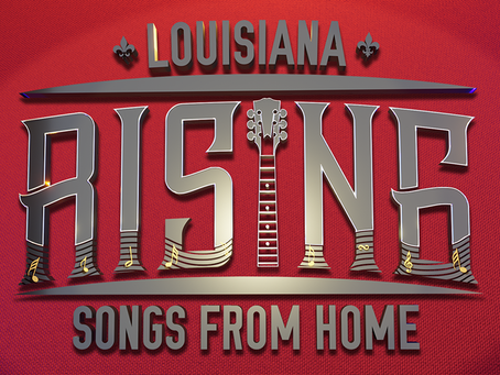 "CASME' ON  FOX 8 ""LOUISIANA RISING AT HOME"" CONCERT SERIES"