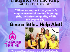 SAFE HOUSE DONATIONS NEEDED!