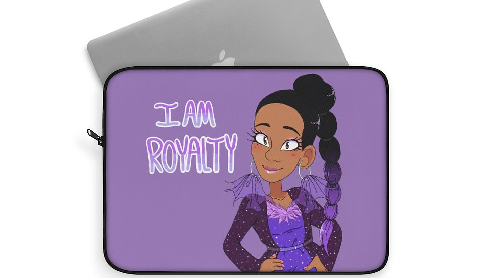 I AM ROYALTY Laptop Sleeve