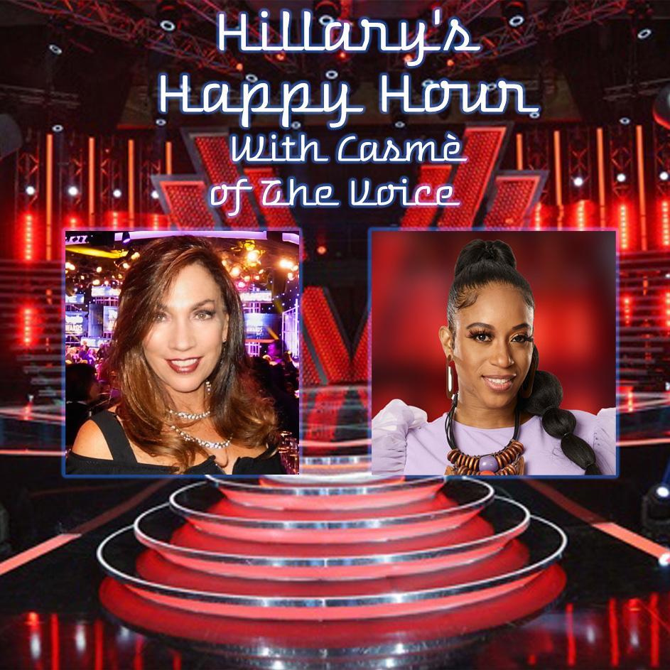 The Voice's Casmè x Hillary Atkin Happy Hour