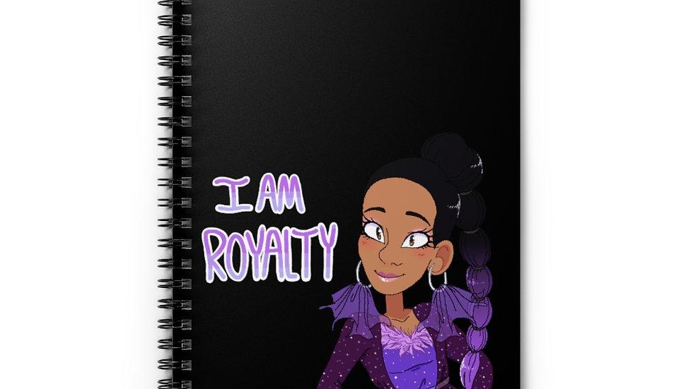 I AM ROYALTY Spiral Notebook
