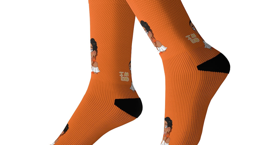I AM KIND Socks (Orange)