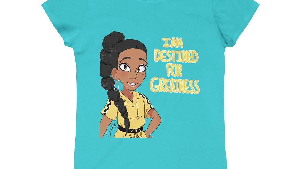I AM DESTINED Princess Tee