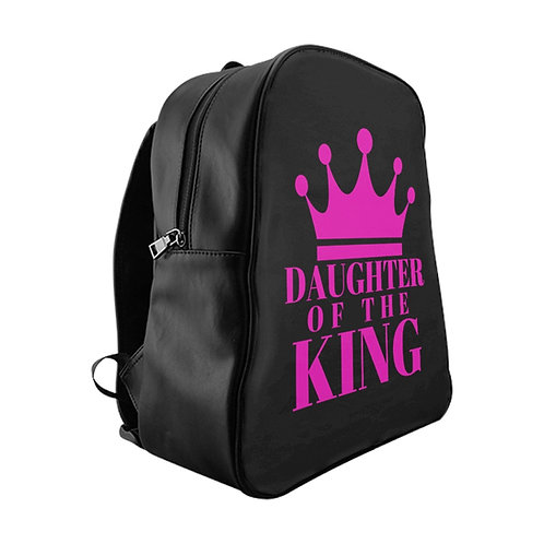 DAUGHTER Of THE KING School Backpack