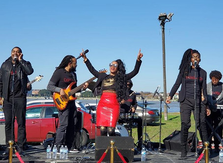 CASME' N NEM PERFORM AT ALGIERS 5K VOTE WALK RUN FEST!