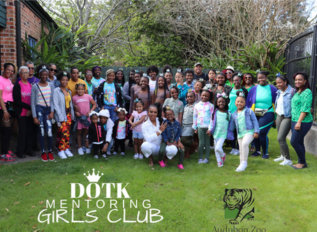 DOTK GIRLS CLUB VISIT ZOO & SOUL FEST w/ Mentor Mrs.CASME'!