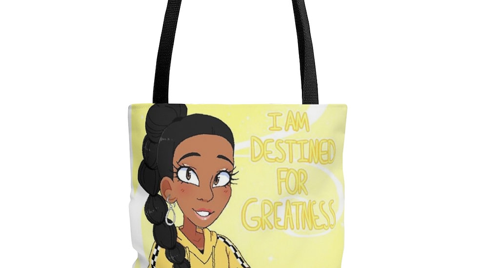 I AM DESTINED Tote Bag