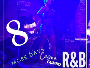 VIDEO: We are ONLY 3 Days until Casmè Gumbo Concert Experience Part3: R&B!