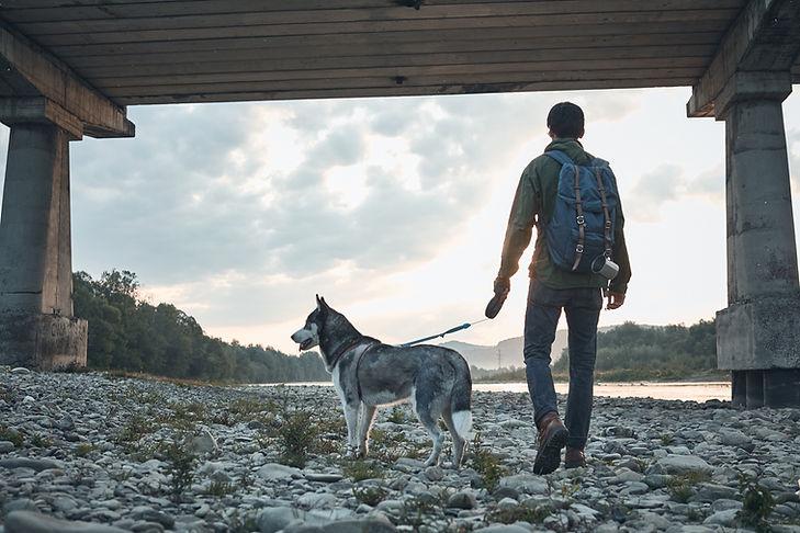 Homme et son chien