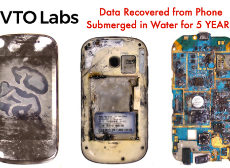 Data Recovered from Phone Submerged in Water for 5 YEARS