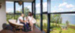 Квартиры бизнес-класса с панорамным остеклением