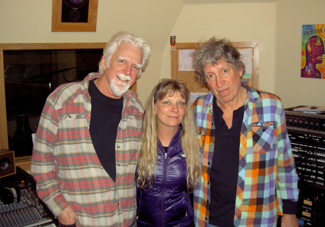 Steve Willis,Ruth Davies & Elvin Bishop