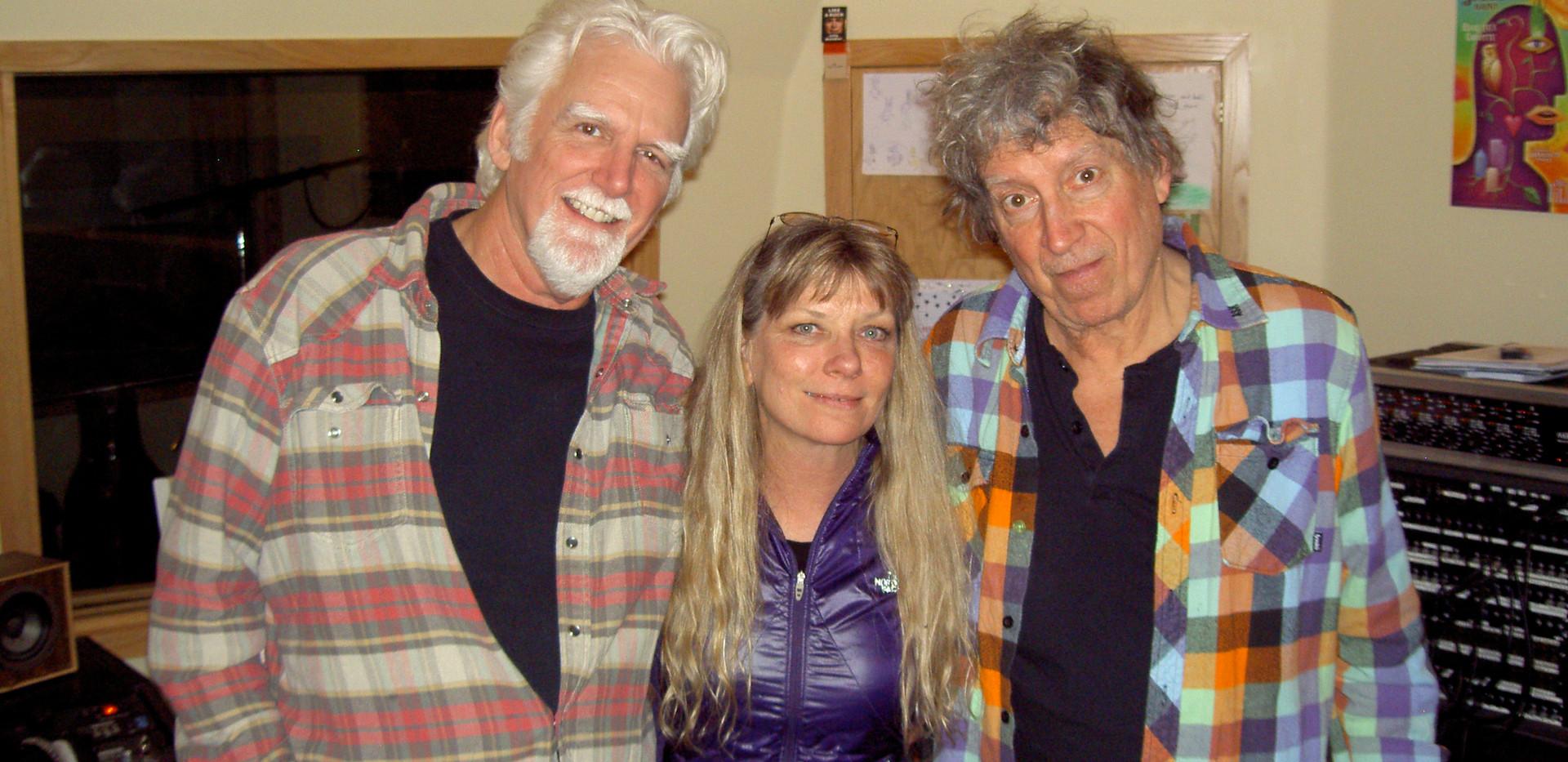 Steve Willis,Ruth Davies & Elvin Bishop