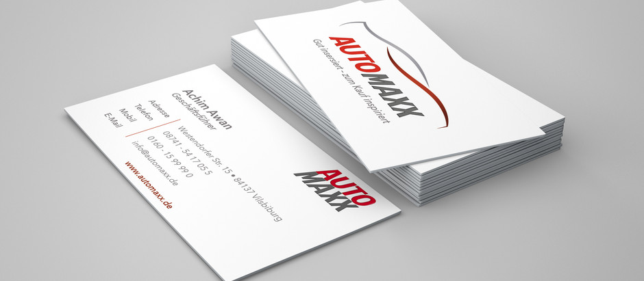 Visitenkarten Automaxx