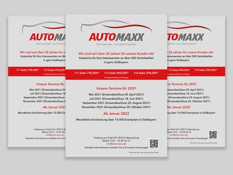 AutoMaxx Verkaufsflyer