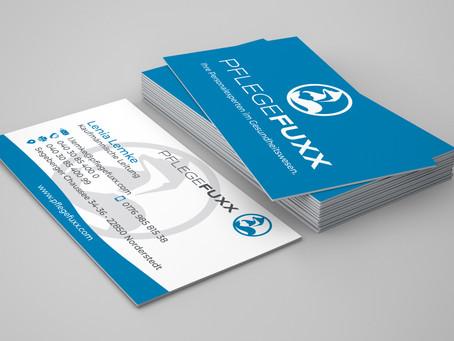 Visitenkarten Pflegefuxx