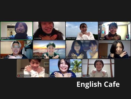自然と英語を話す環境が生まれる。English Cafeの参加者紹介