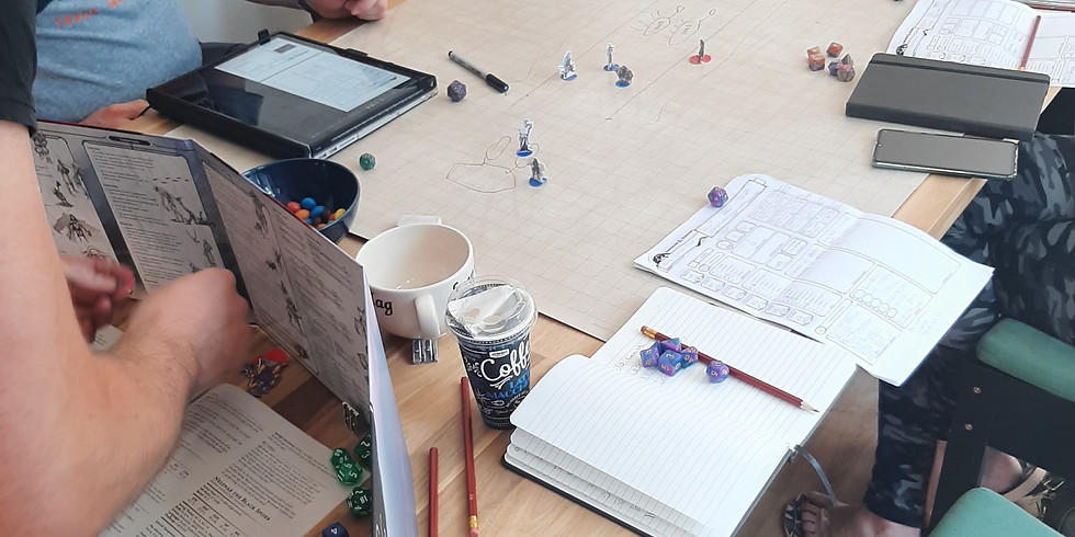 Dungeons & Dragons: Drinks and Dicemeeting 14 oktober
