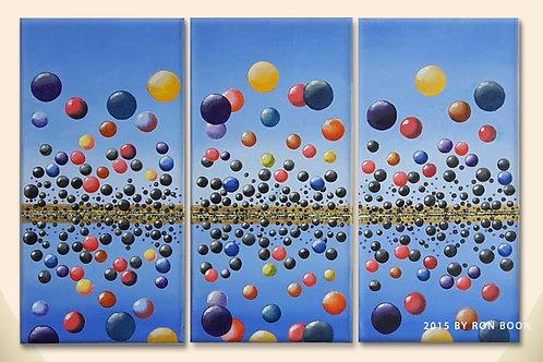 Bubbles Reflection