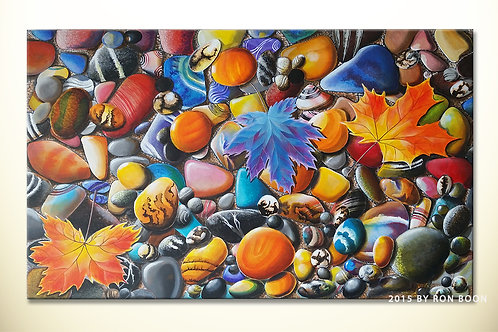 Autumn Pebbles