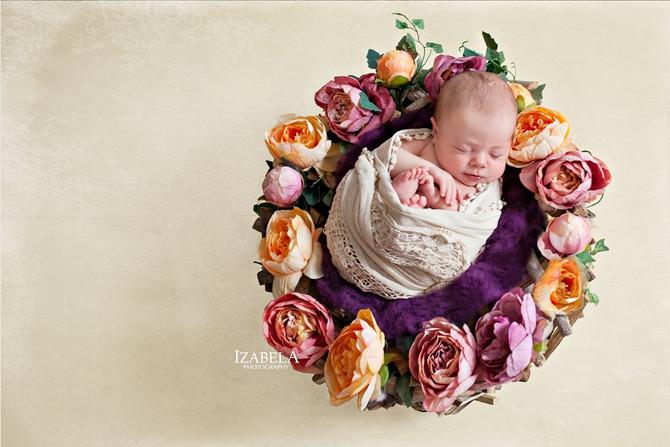 Little angel newborn photography...