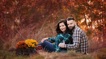 Beautiful couple - outdoor photo session in Bedford